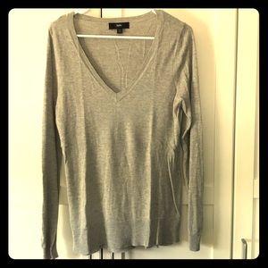 Mossimo Gray Sweater Medium